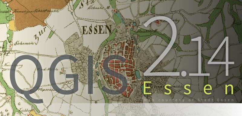QGIS 2.14 Essen