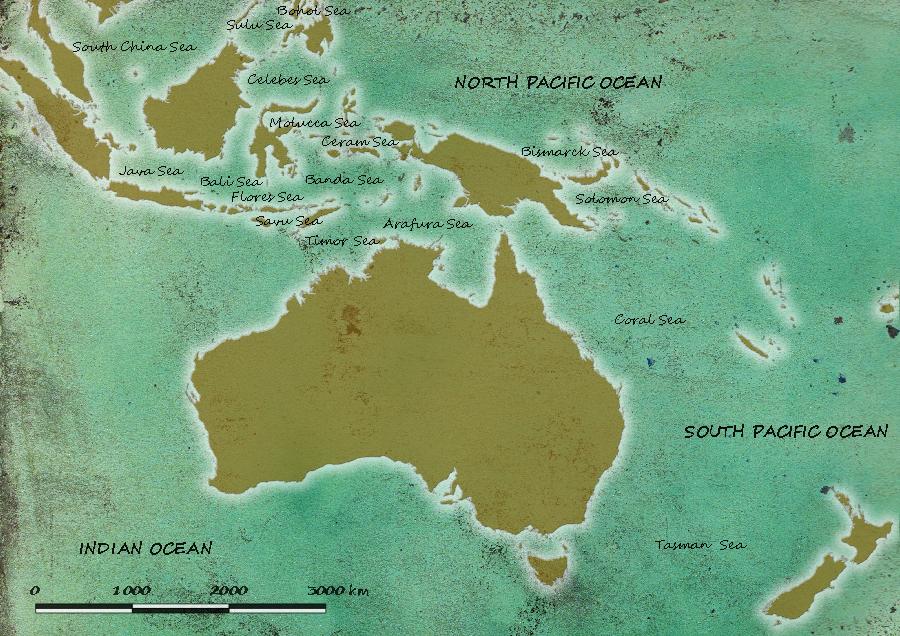 Przykład starej mapy