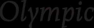 warszawskie bezpłatne czcionki - Olympic