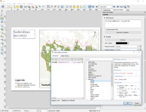 Jak zrobić automatyczne podpisy w atlasie QGIS - funkcja concat