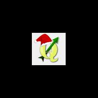 QGIS Christmas logo 2016