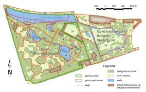 Galeria map - Park Skaryszewski