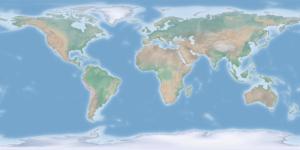 Natural Earth - bezpłatne dane wektorowe i rastrowe